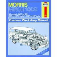 HAYNES MANUAL MORRIS MINOR 1000 1956-71 1.0 1.1 PETROL WORKSHOP